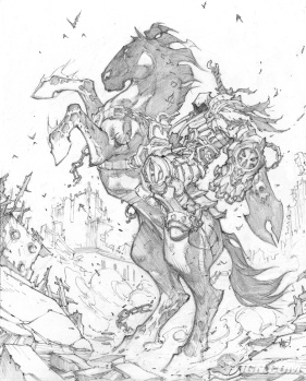 Sketch by Joe Madureira