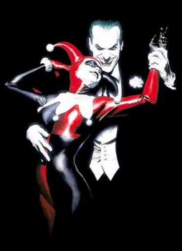 Joker and Harley Quinn by Alex Ross