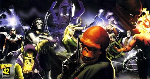 Marvel Villains by Alex Ross