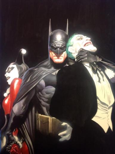 Batman, Joker and Harley Quinn by Alex Ross