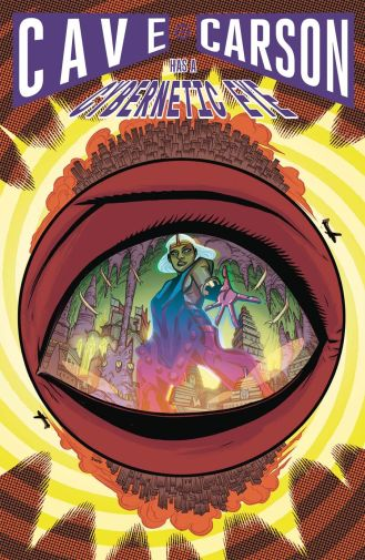 Cave Carson Has A Cybernetic Eye #4 Cover A Regular Michael Avon Oeming Cover