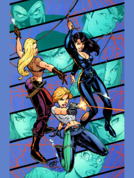Danger Girl #1 Cover Art.PNG