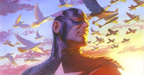 Captain America by Alex Ross