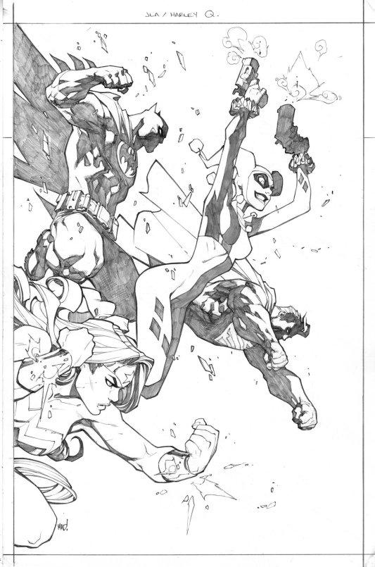 Batman | Superman | Wonder Woman | Harley Quinn by Joe Madureira