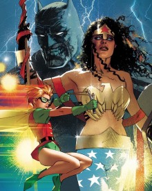 Batman   Robin   Wonder Woman
