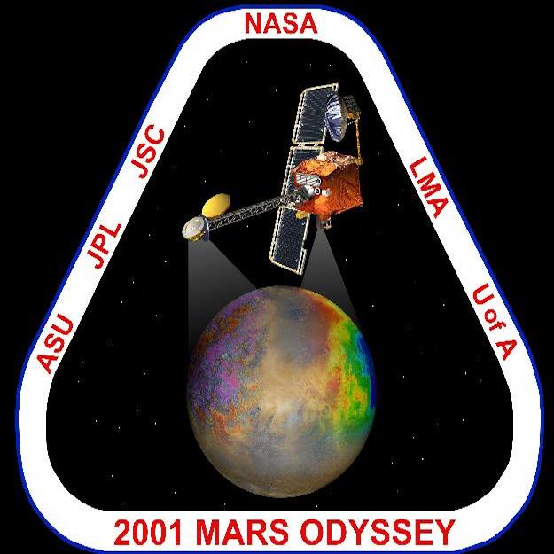 2001 Mars Odyssey Enters Orbit Around Mars10/24/01