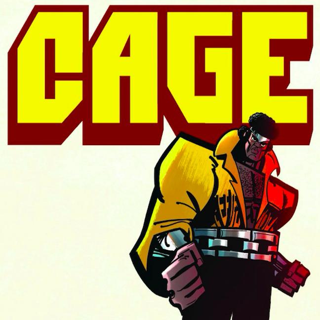 CAGE! Issue #1 by GenndyTartakovsky