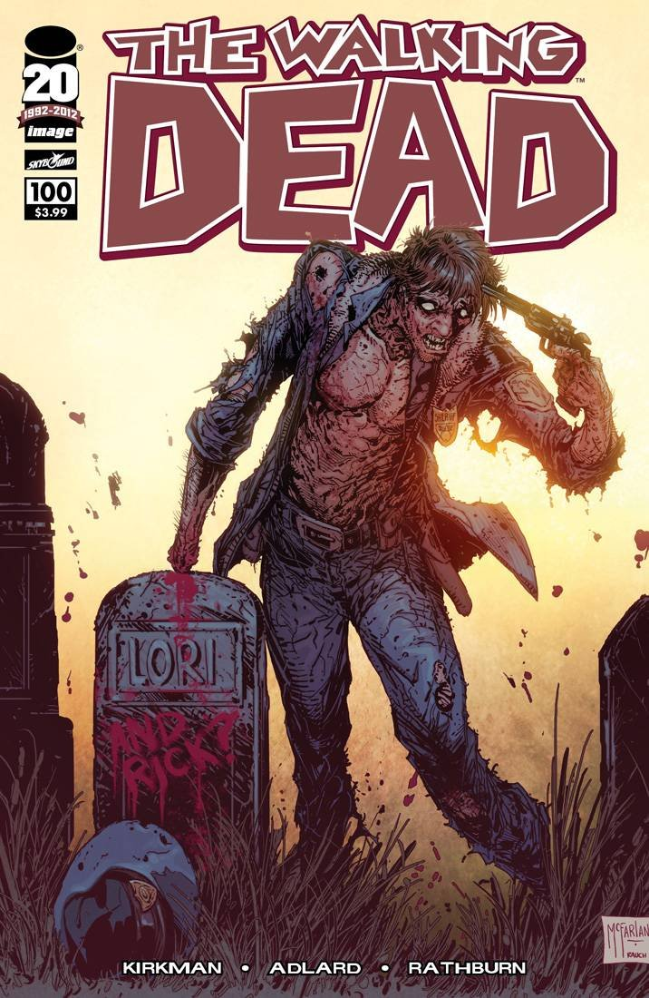 Walking Dead 100 McFarlane Variant