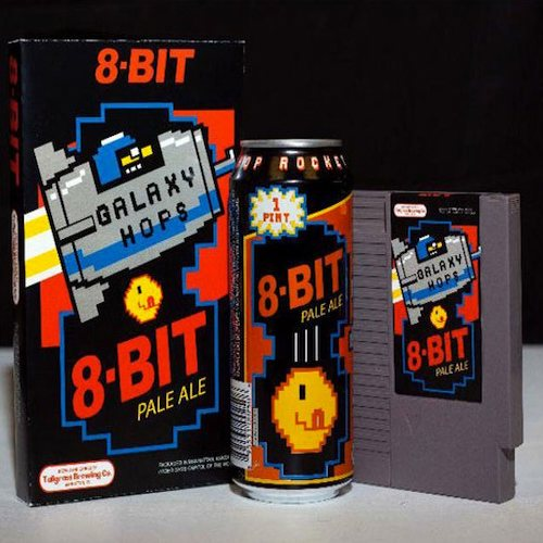 8-Bit Pale Ale Inspired by Classic Video Games