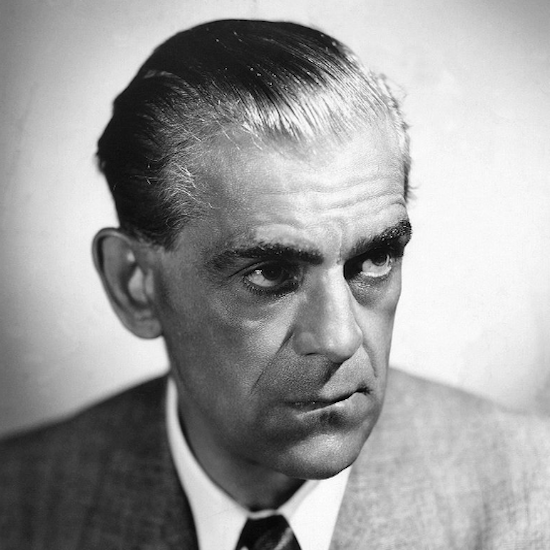 #OTD Boris Karloff was born 11/23/1887