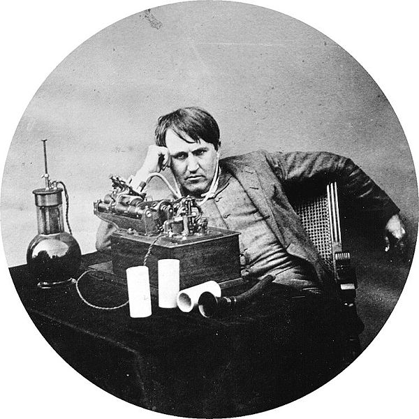 #OTD Thomas Edison demonstrated the first 'record' 12/06/1877