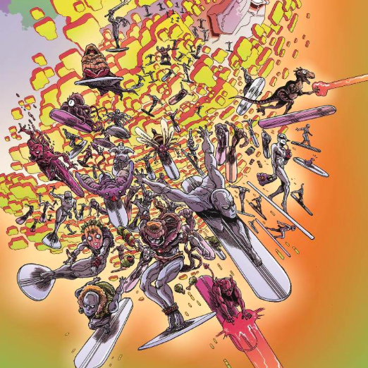 Secret Wars Battleworld #1-4 Cover Art w/ Variants
