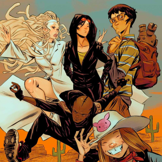 Runaways Vol. 4 1-4 Cover Art
