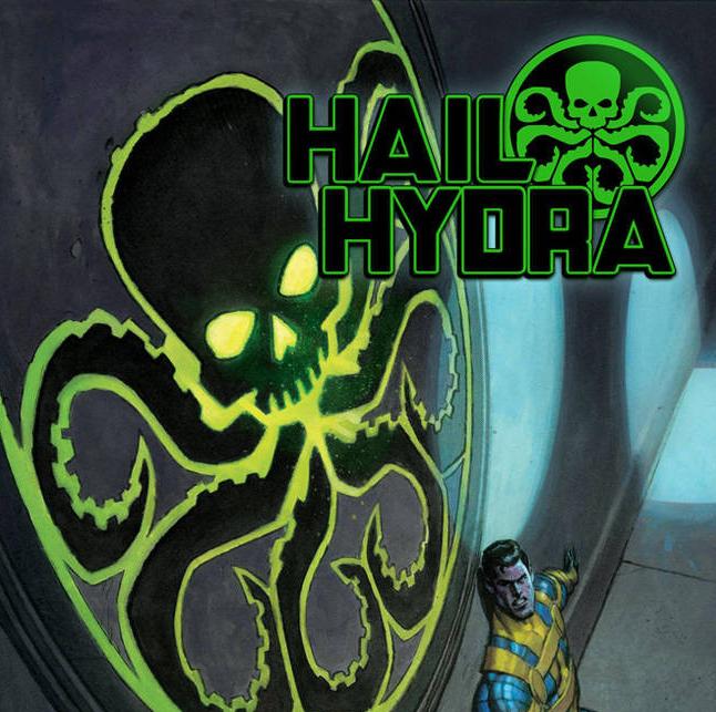 Hail Hydra #1-4 Cover Art w/Variant