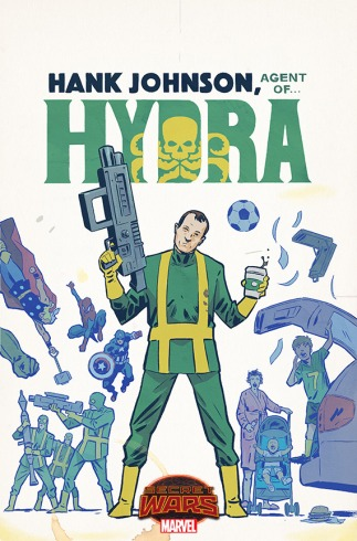 Hank Johnson, Agent of Hydra #1 Walsh Variant
