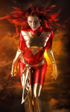Jean Grey Cosplay 34