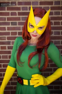 Jean Grey Cosplay 5