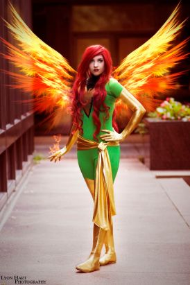 Jean Grey Cosplay 6