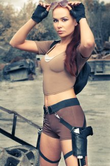Lara Croft Cosplay 30