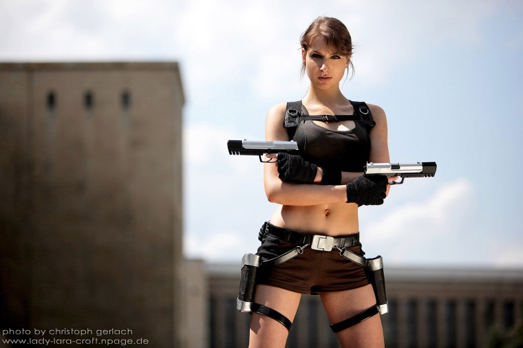 Lara Croft Cosplay 45