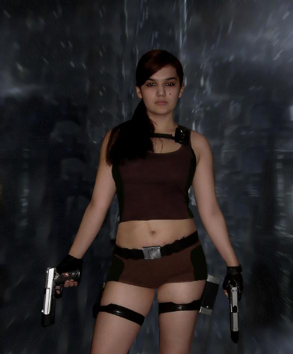 Lara Croft Cosplay 49
