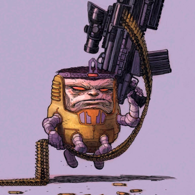 M.O.D.O.K. Assassin Cover Art w/Variants