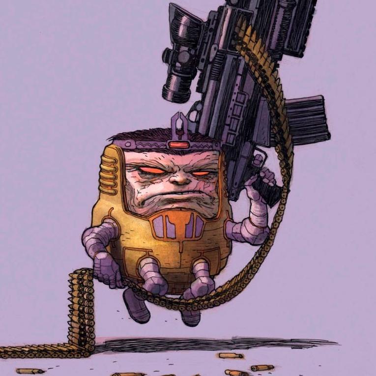 M.O.D.O.K. Assassin Cover Artw/Variants