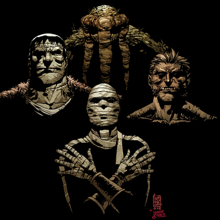 Mrs. Deadpool and the Howling Commandos Cover Art w/Variants