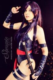 Psylocke Cosplay 13