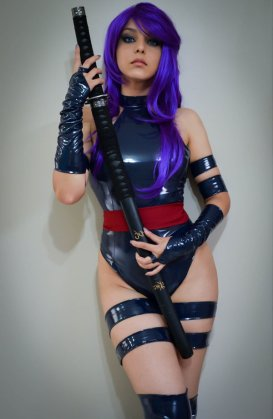 Psylocke Cosplay 17