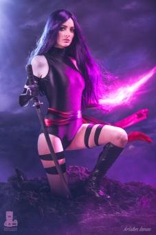Psylocke Cosplay 28