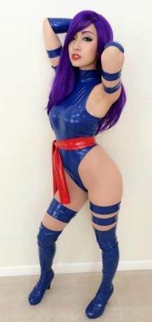 Psylocke Cosplay 42