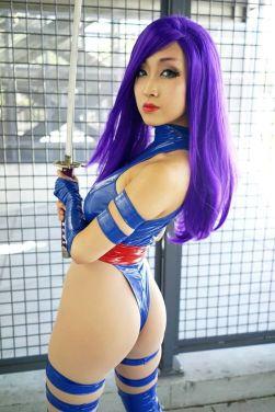 Psylocke Cosplay 44