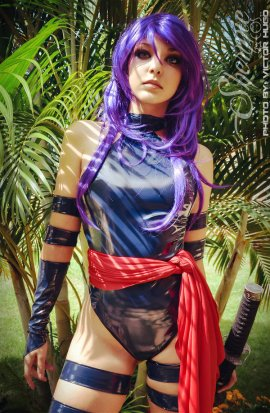 Psylocke Cosplay 9
