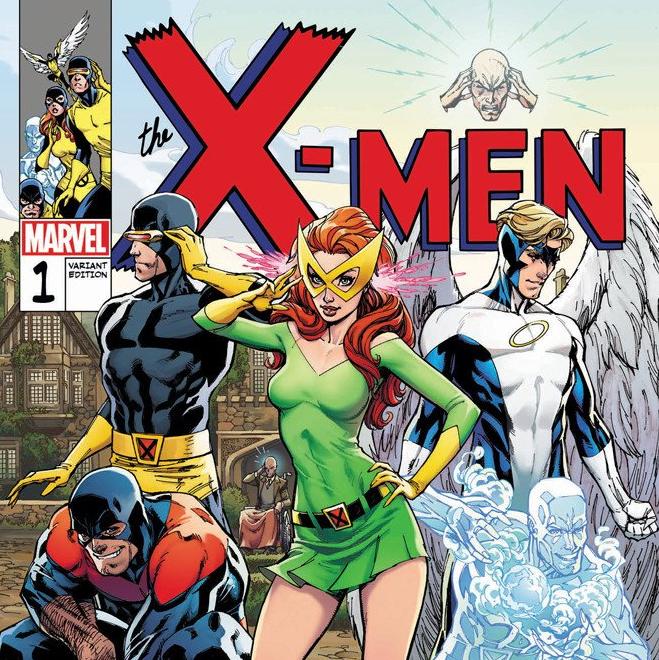 X-Men Blue #1 J. Scott Campbell Store EXCLUSIVECovers