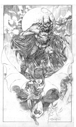 Ardian Syaf Pencils - Batman | Batgirl