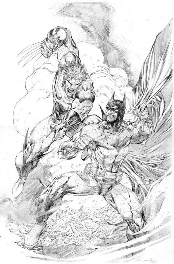 Ardian Syaf Pencils - Batman | Wolverine