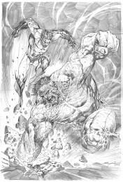 Ardian Syaf Pencils - Hulk | Wolverine