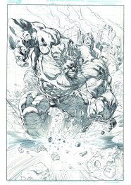 Ardian Syaf Pencils - Hulk