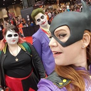C2E2 2017 Cosplay - Batgirl | Joker | Harley Quinn