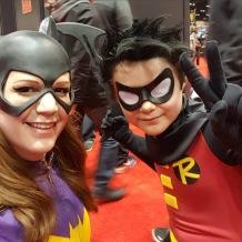 C2E2 2017 Cosplay - Batgirl | Robin