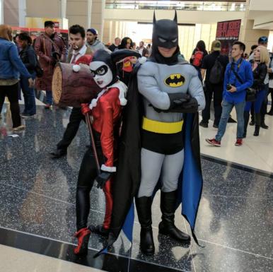 C2E2 2017 Cosplay - Batman | Harley Quinn