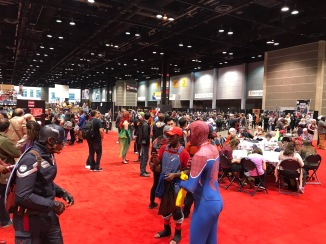 C2E2 2017 Cosplay - Captain America | Spider-Man | Super Mario