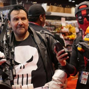 C2E2 2017 Cosplay - Deadpool | Punisher
