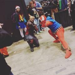 C2E2 2017 Cosplay - Deadshot | Scarlet Spider