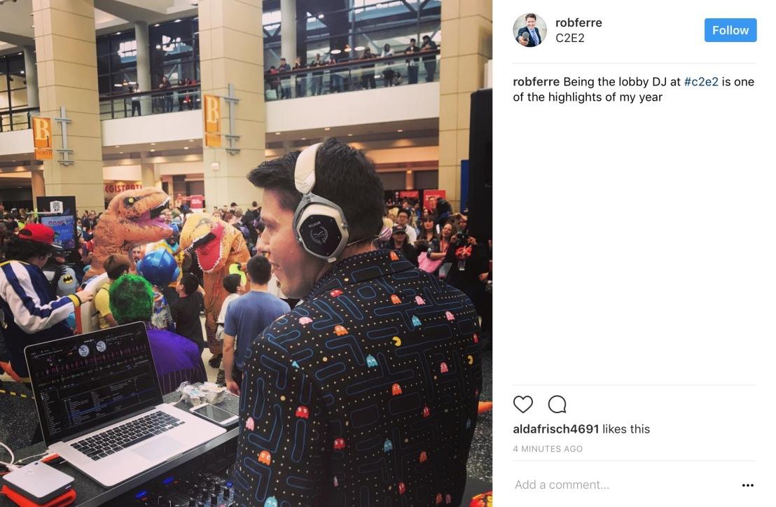 C2E2 2017 Cosplay - DJ