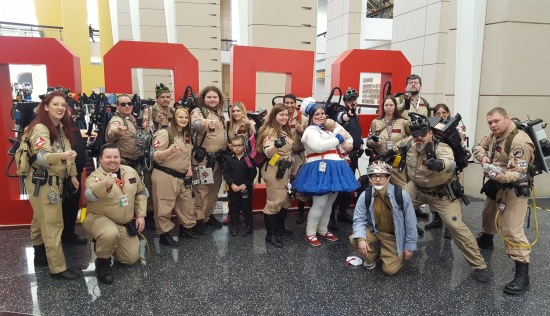 C2E2 2017 Cosplay - Ghost Busters