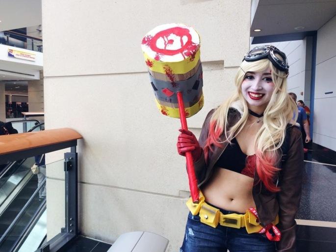 C2E2 2017 Cosplay - Harley Quinn 7