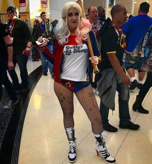 C2E2 2017 Cosplay - Harley Quinn 9