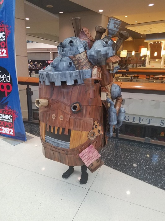 C2E2 2017 Cosplay - Howl's Moving Castle